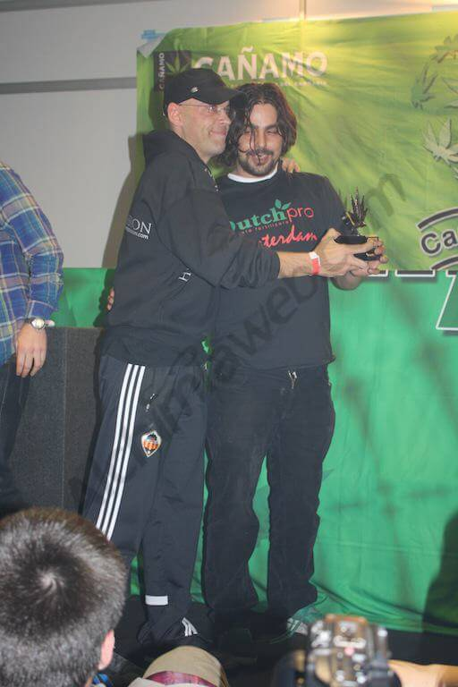 3º premio Exterior Delicious Seeds (Spannabis) Sugar Black Rose