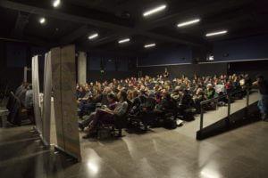 Público de las conferencias