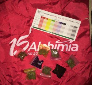 Mostres presentades en la Cannabis Cup