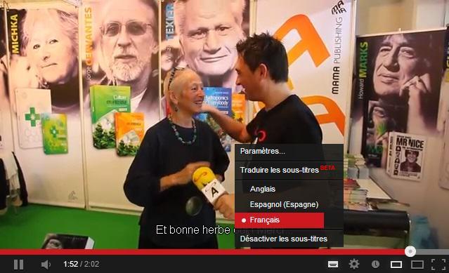 Interviews Spannabis 2013: Activisme et littérature cannabique.