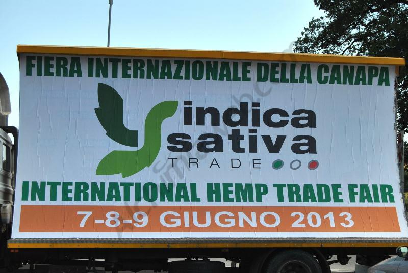 Philosopher Seeds à la première Foire du Chanvre d'Italie