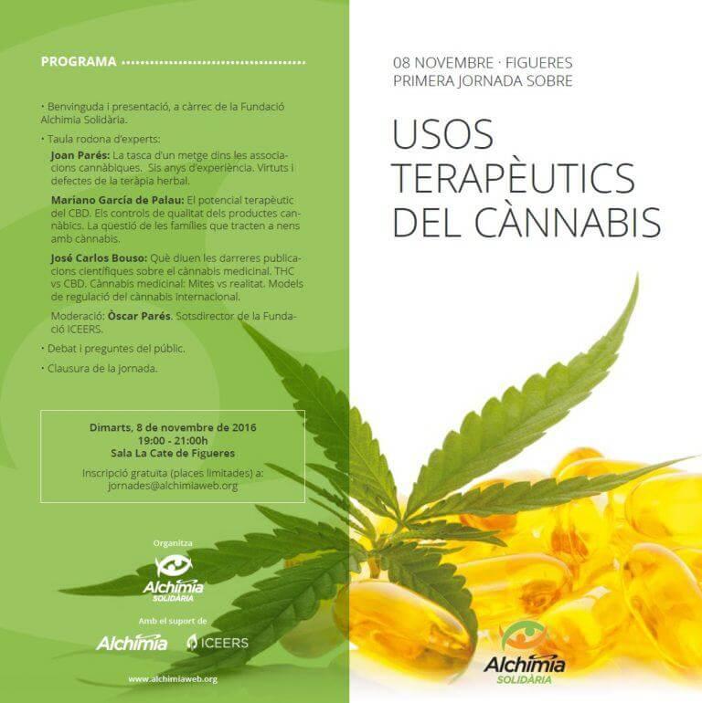 Première conférence sur l'utilisation thérapeutique du cannabis à Figueres