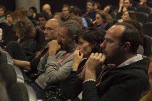 Zoom dans le public