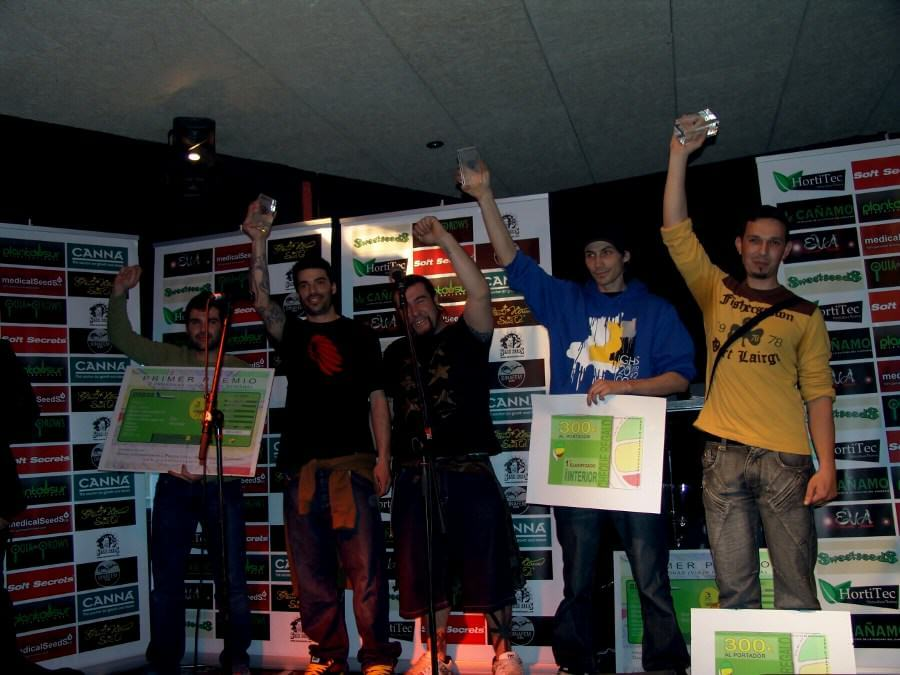 Campeones interior Copa Catalunya de Grows 2010