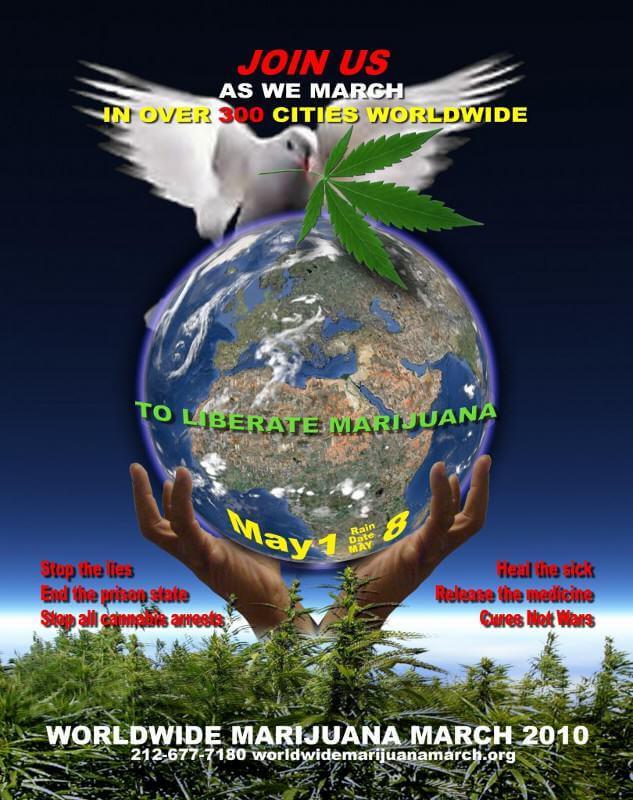 Global Marihuana March 2010