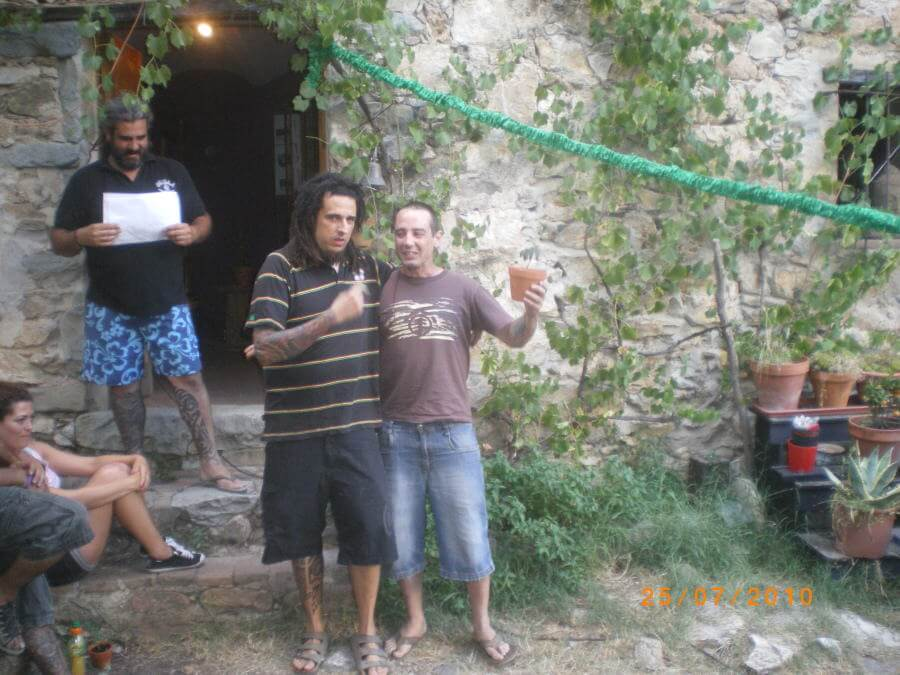 Sergi, flamante campeón con Vanilla Kush