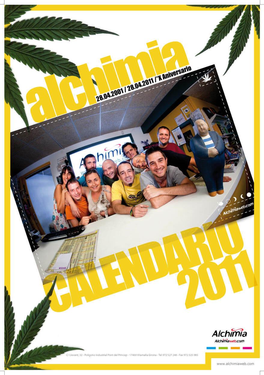 Calendario Alchimia Grow Shop 2011