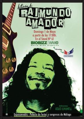 Raimundo Amador Expocannabis Sur 2011