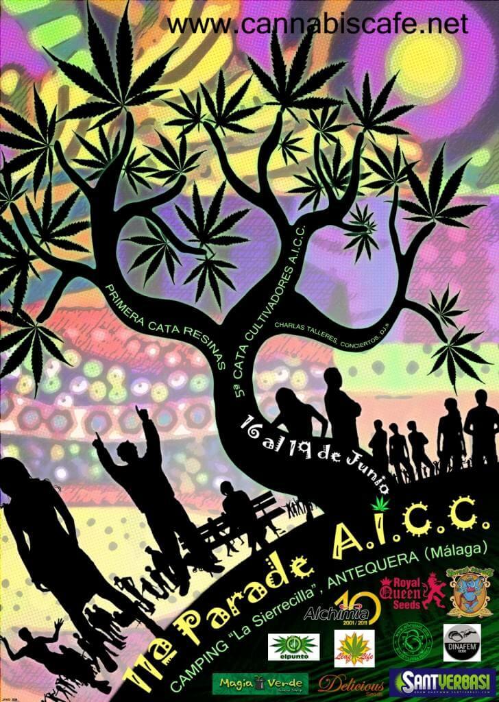 Cartel 11ª Parade A.I.C.C.