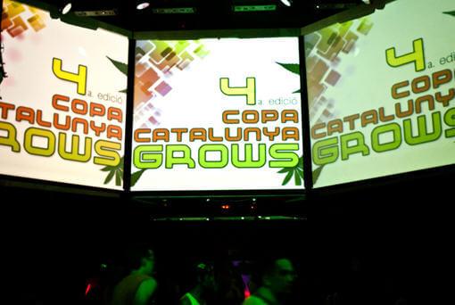 3 Videopantallas gigantes en el escenario