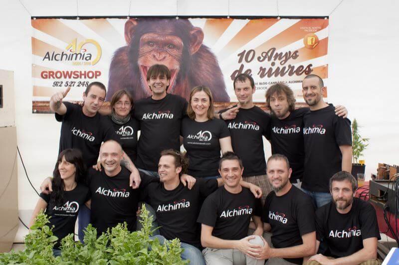 Celebración X aniversario Alchimia Grow Shop