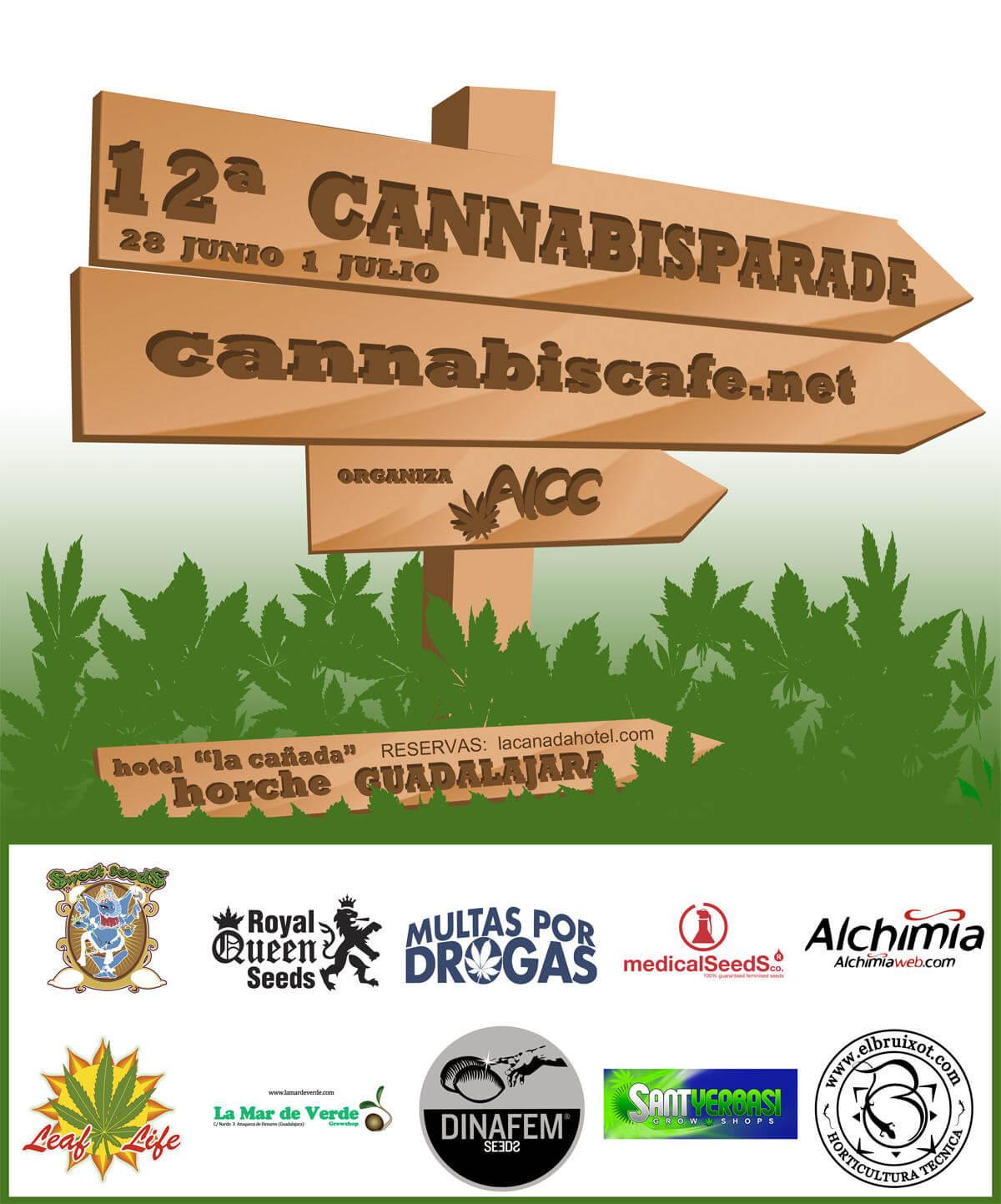 Cannabis Parade 2012 por Cannabiscafe