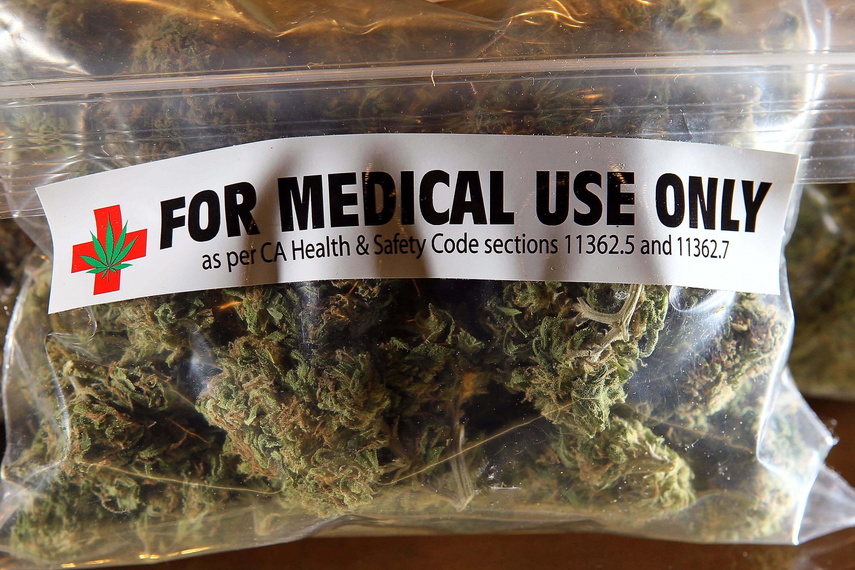 Marihuana para uso medicinal.