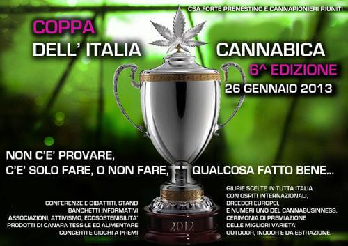 6ª Copa Cannábica de Italia
