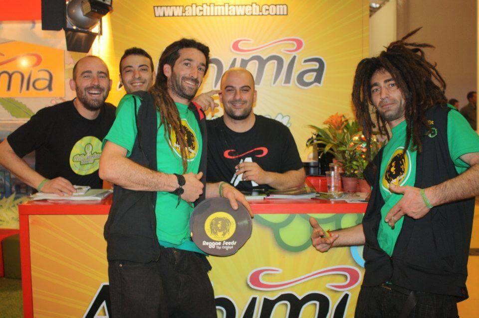 Philosopher Seeds con los chicos de Reggae Seeds