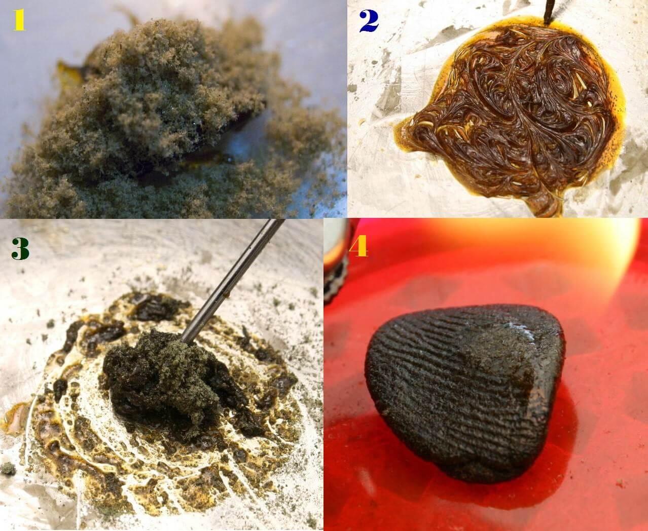 Extracciones y concentrados de marihuana