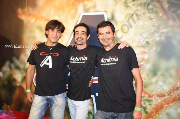 Txus, Isaac y Carlos