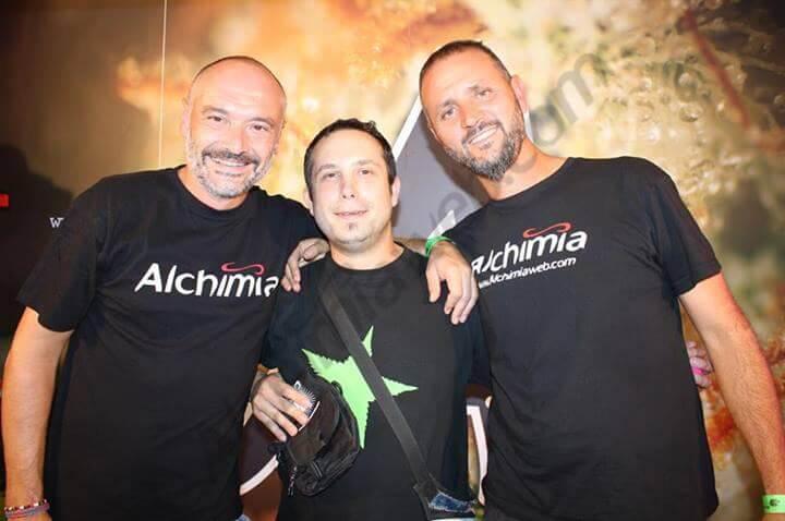David y Ramon con Jose de la Maca