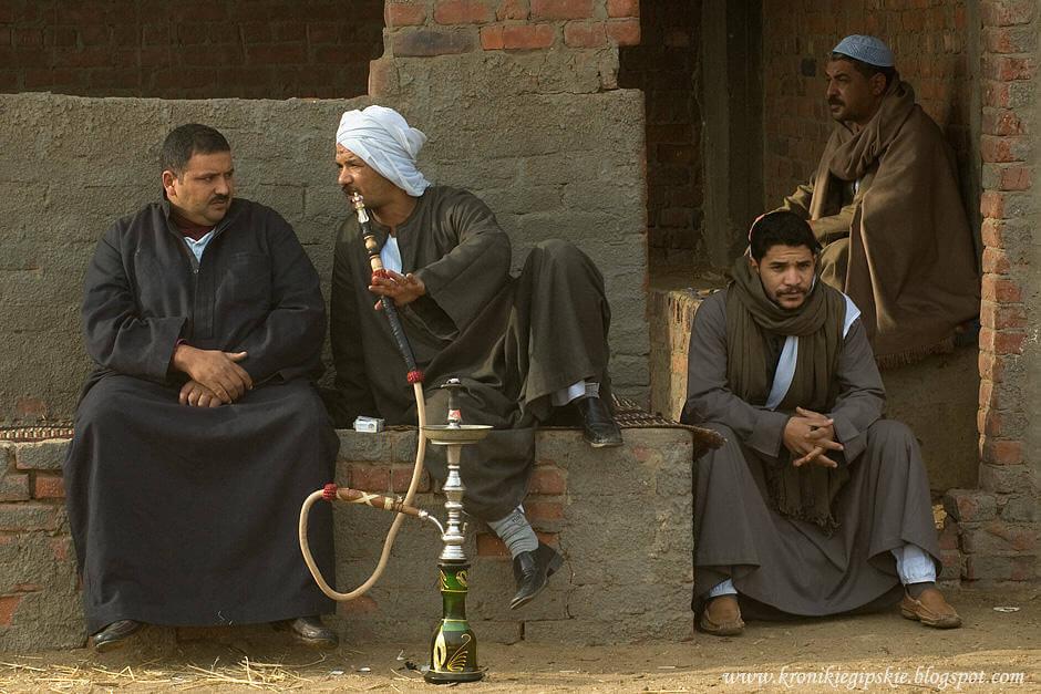 Disfrutando de la Shisha en Egipto