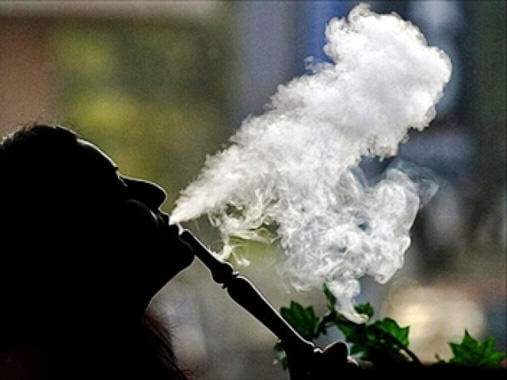 El humo aromático