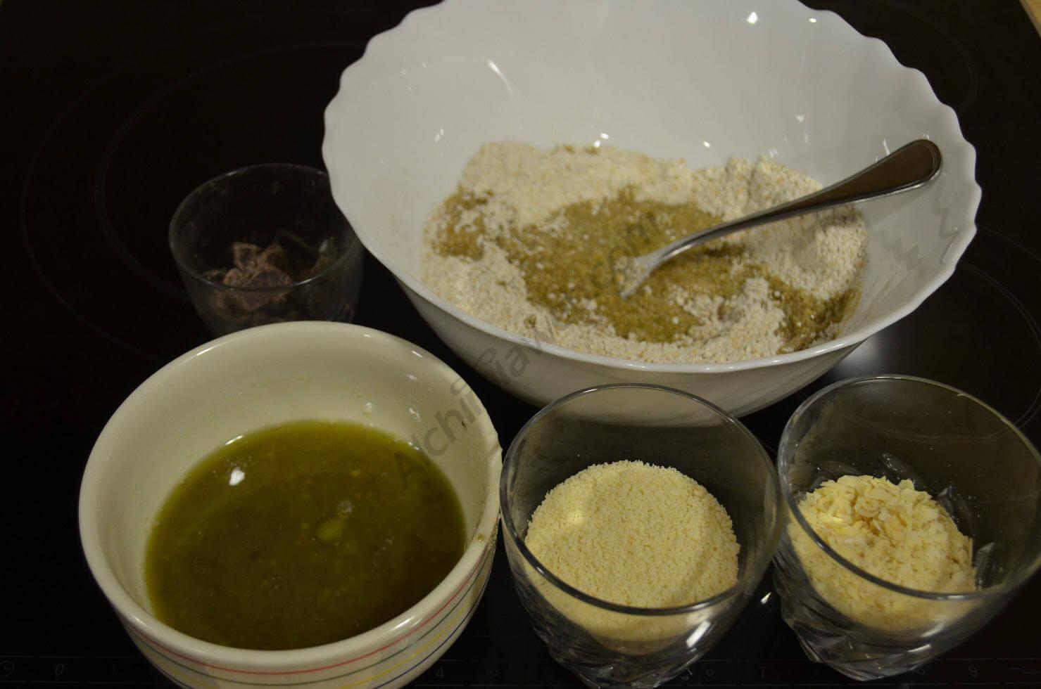 Mezcla de los ingredientes