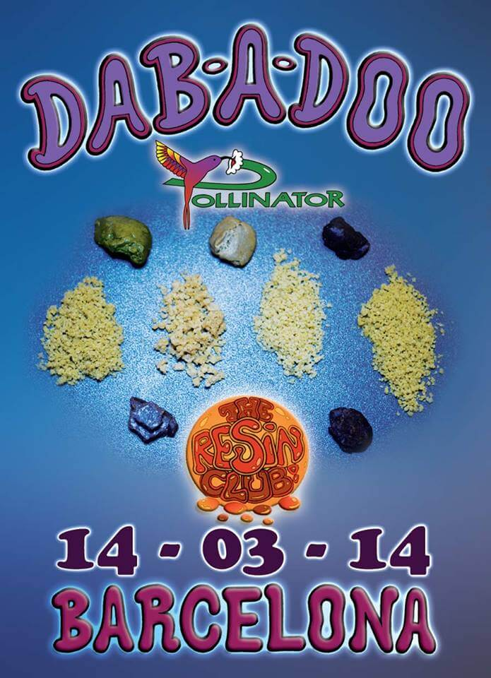 Cartel de la Dab A Doo Barcelona 2014