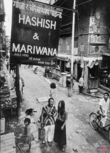 Hippie Hashish Trail, Nepal, 1970