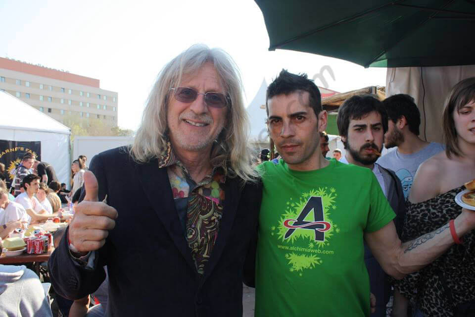 Jorge Cervantes con Alex de Alchimia