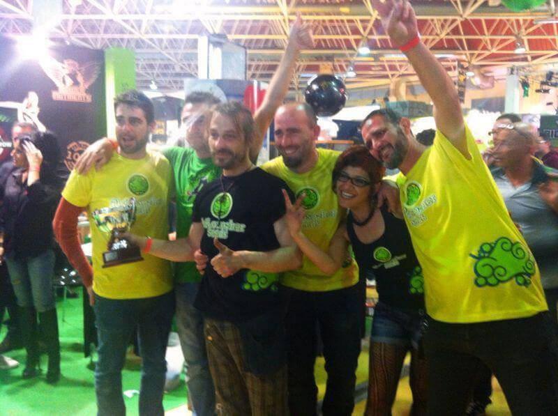 1º Premio 25,5 THC AlphaCat Cup
