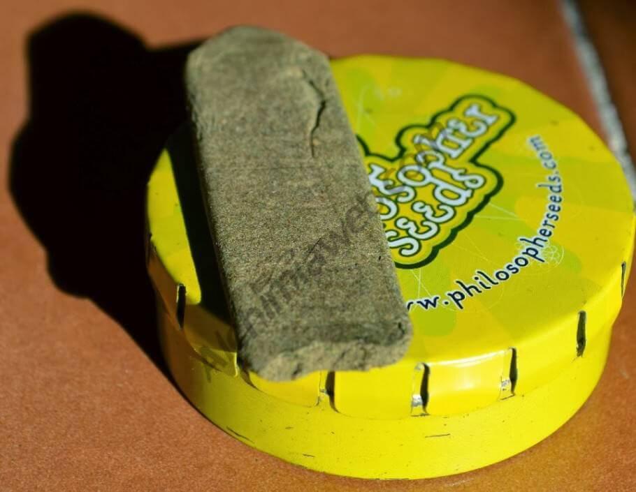 Extracción de resina de marihuana de Philosopher Seeds