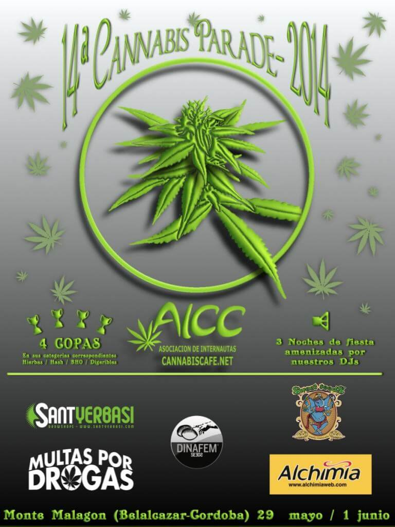 Cannabis Parade 2014