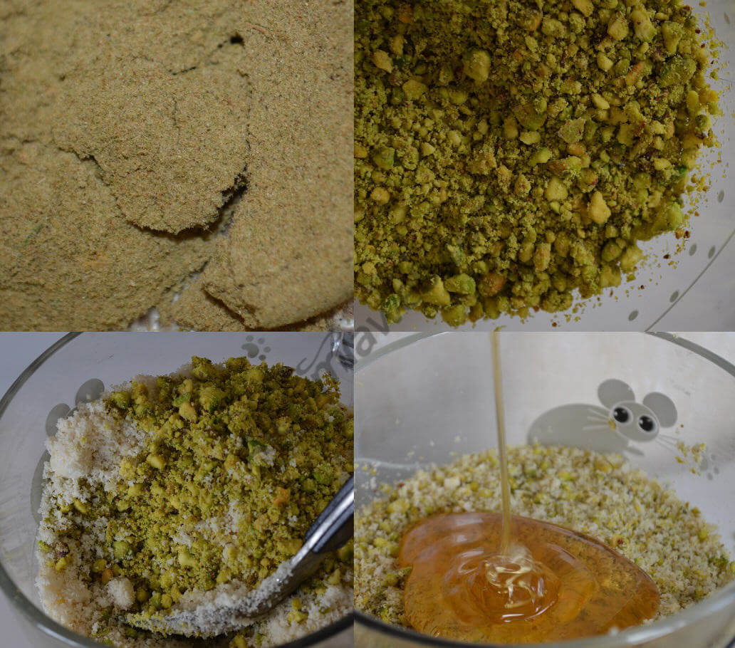 Preparación del dawamesk de hachís