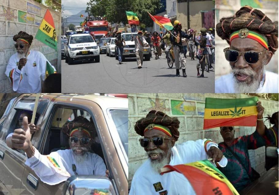 Bunny Wailer, organizador de la Marcha para la legalización de la marihuana en Jamaica