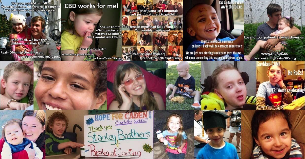 La asociación Realm of Caring ayuda a varios niños