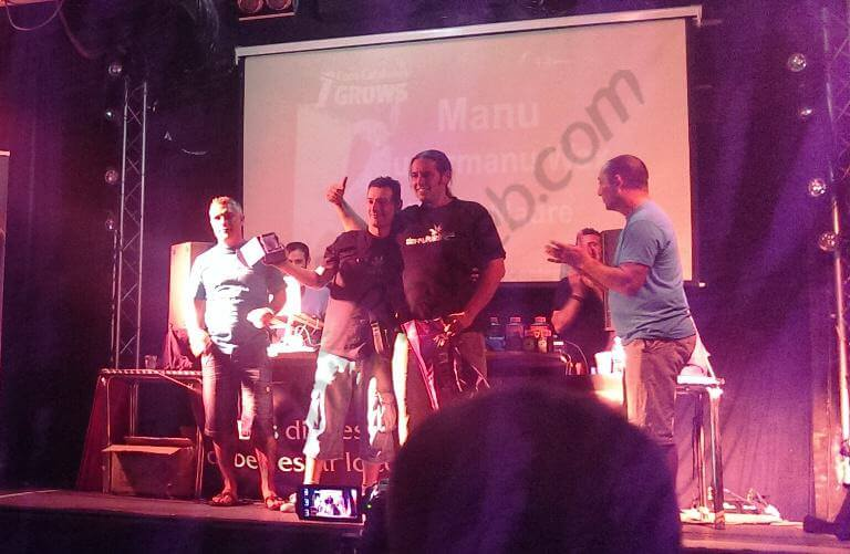 1er premio amateur Concentrados Super Manu de Tierra Madre cultivador Manu