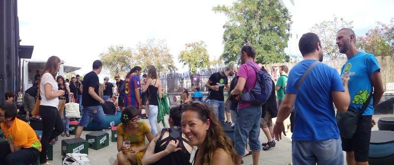 afluencia de asistentes en la Copa Catalunya de Grows