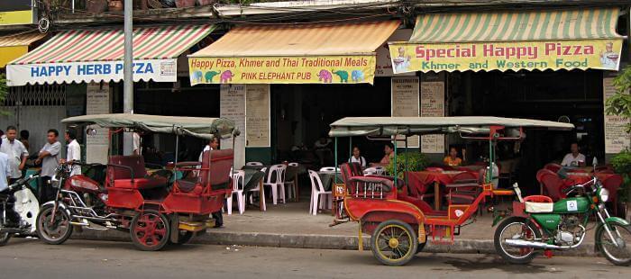 restaurantes típicos donde hacen Happy Pizza