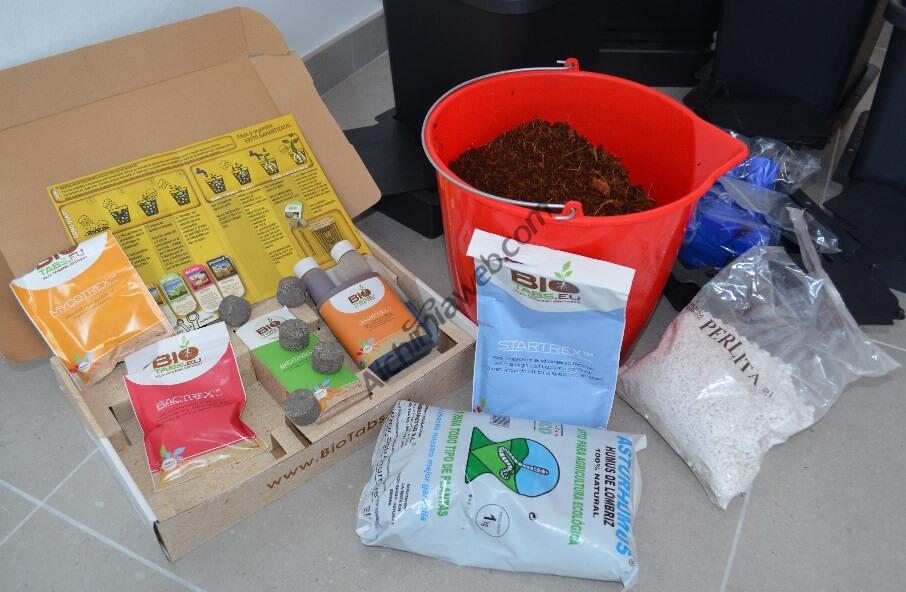 Preparación del sustrato para marihuana a base de coco con Bio Tabs