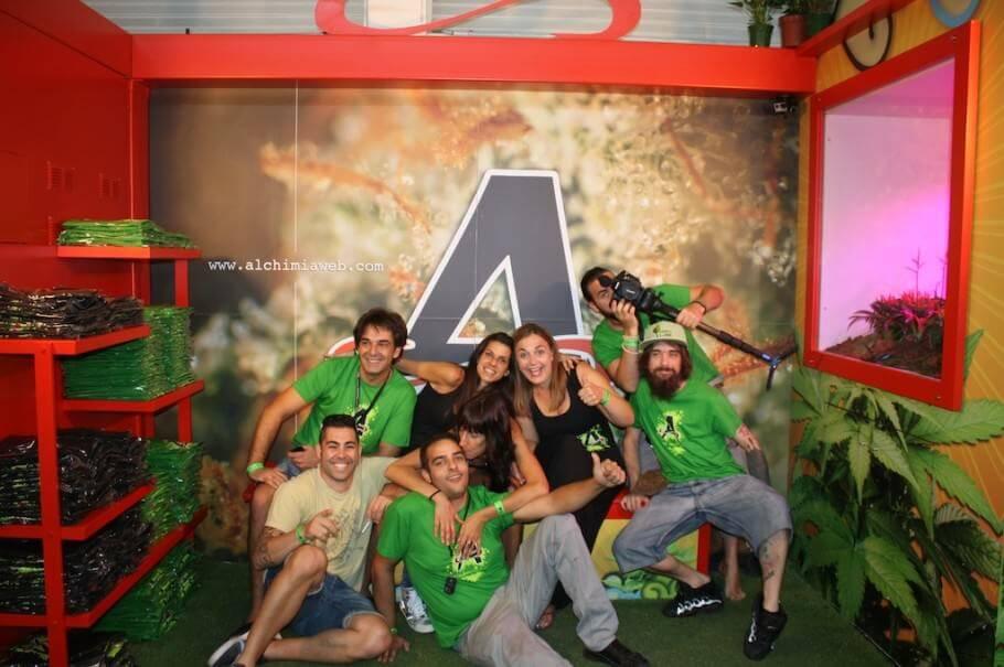 Alchimia en Expogrow 2014