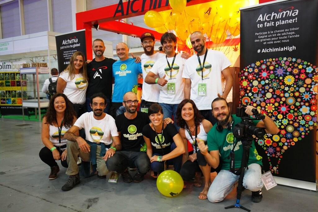 Equipo Alchimia Expogrow 2015