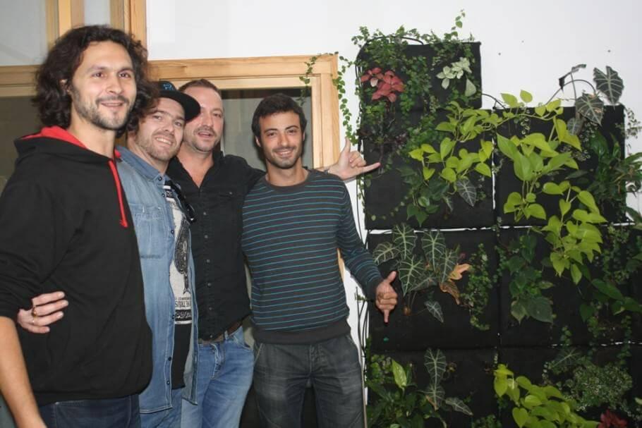 Alchimia con parte del equipo de TH Seeds, con Douglas y Julian