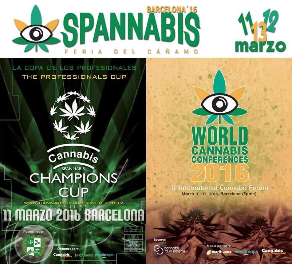 Calendario 2016 de Ferias y Copas Cannábicas de Europa