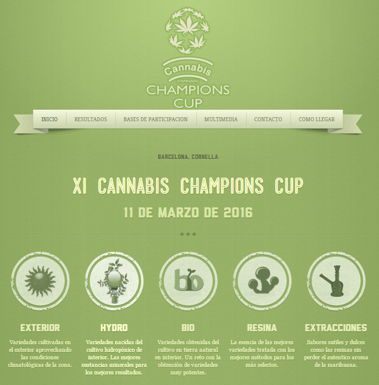 Cannabis Champions Cup 2016