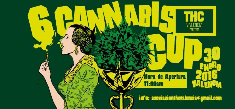 6ª Cannabis Cup THC Valencia 2016