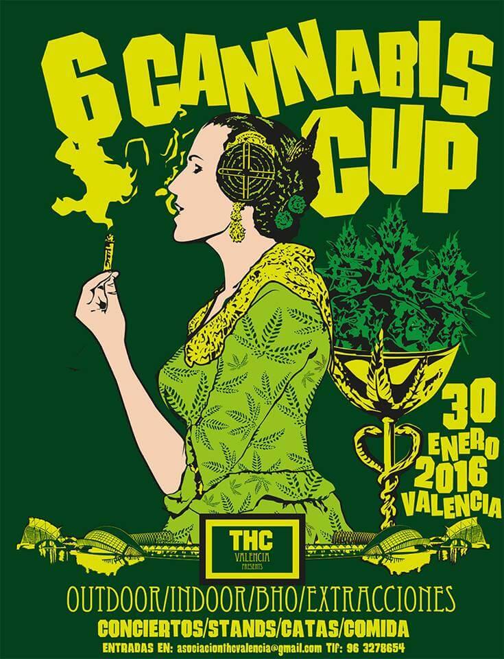 6 Cannabis Cup THC Valencia 2016