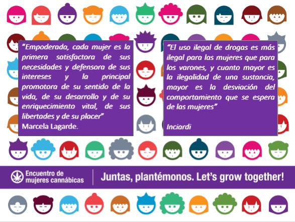 Juntas, plantémonos. Let's Grow Together