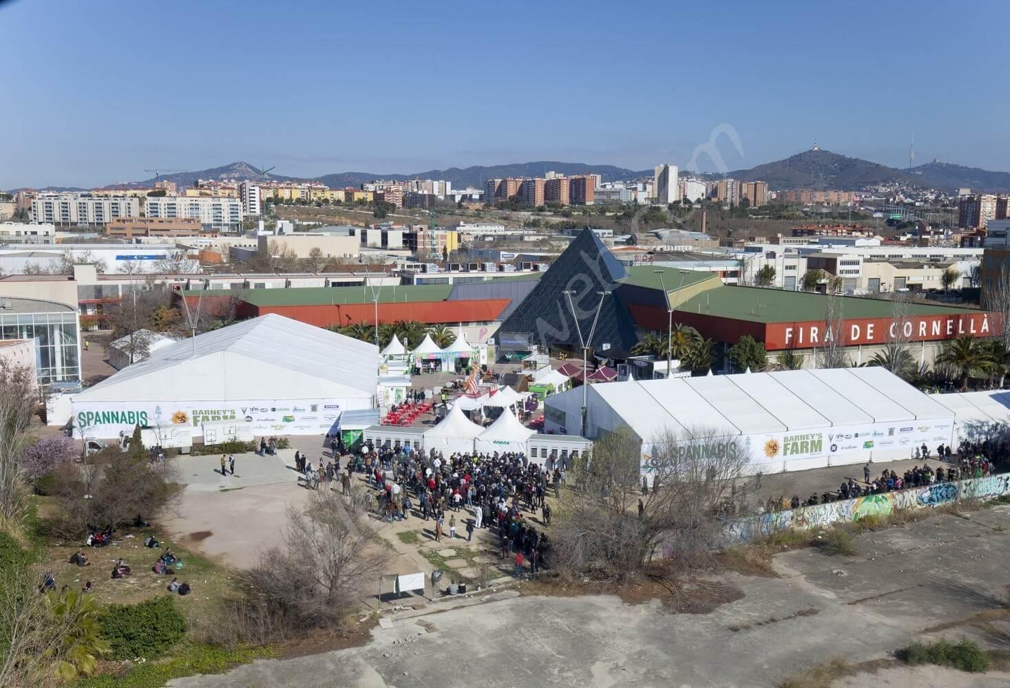 Feria de Cornellà Spannabis 2016