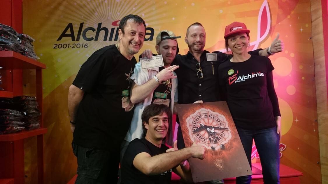 TH seeds con Alchimia Grow Shop