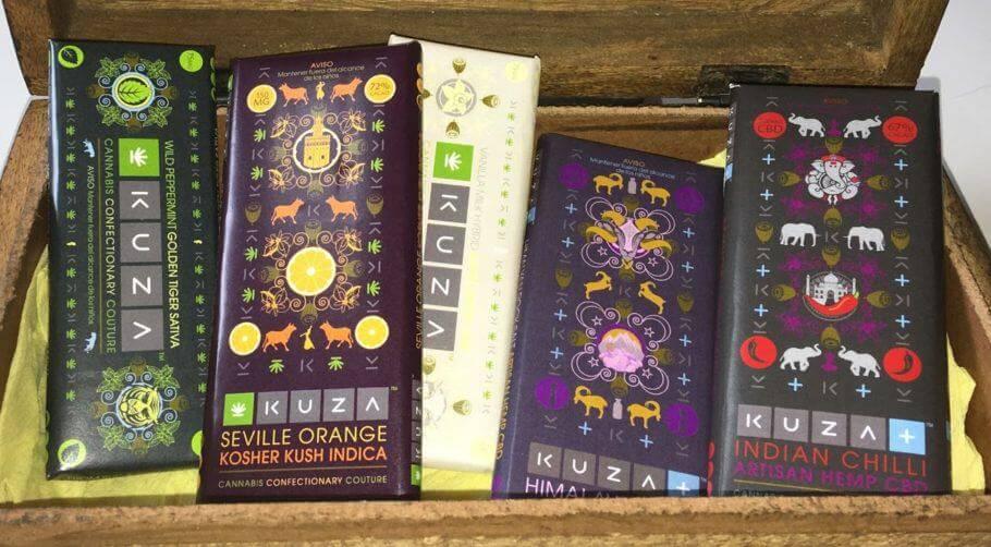 Chocolat artisanal au THC et au CBD