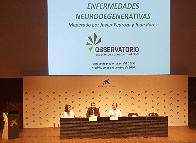 Noelia, Dr. Javier Pedraza, y el Dr. Joan Pares